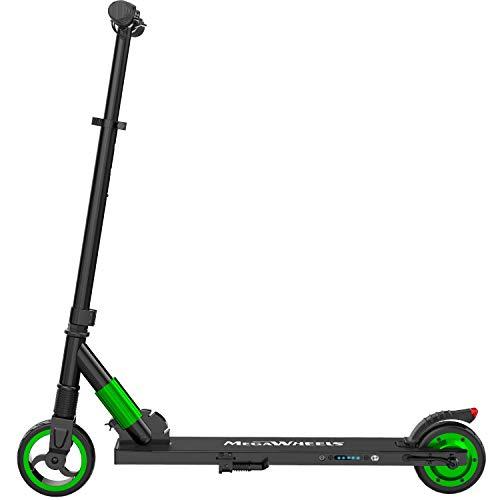 M MEGAWHEELS Monopattino Elettrico Pieghevole Scooter,10-12Km di Autonomia,velocità Fino a 23km/h, per...