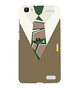 School Collage Dress 3D Hard Polycarbonate Designer Back Case Cover for VIVO V1 MAX