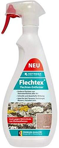 HOTREGA Flechtex Flechten Entferner 1 L Set inkl. Schaumsprüher, Pilz-Entferner, Algen-Enferner, Flechtenentferner, Algenentferner