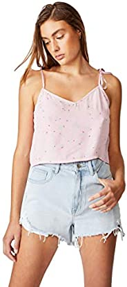 Cotton On Women's Cami Blouse, Isobel Ditsy Fragrant L