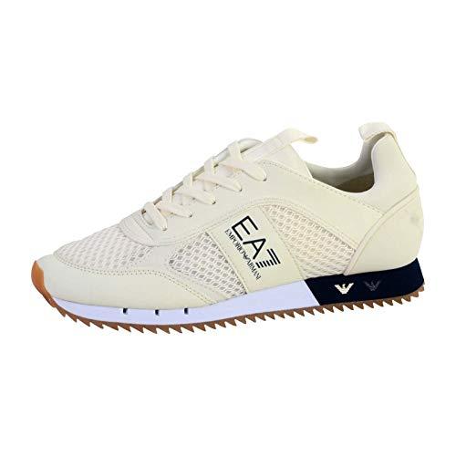 Emporio Armani - Zapatilla EA7 - X8X027 XK050 00894 - Weiß, 42.5
