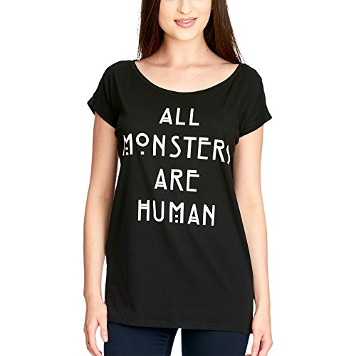American Horror Story All Monsters Are Human T-shirt Femme noir S