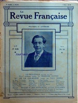 REVUE FRANCAISE (LA) [No 32] du 05/05/1912