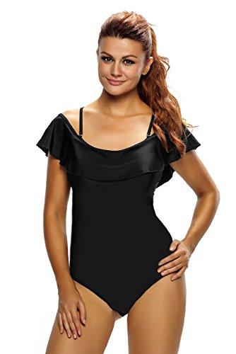 nuovo-da-donna-taglie-forti-nero-off-spalla-ruffle-un-pezzo-costume-da-bagno-monokini-beachwear-cost