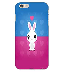 PrintDhaba Couple D-5863 Back Case Cover for APPLE IPHONE 6 (Multi-Coloured)