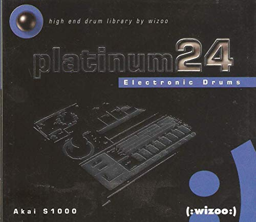 Platinum 24 Electronic Drums [Sample-Cd for AKAI] (Akai 3000)