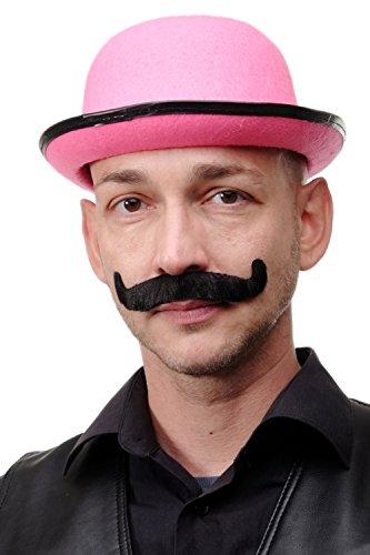 DRESS ME UP Karneval Fasching Halloween falscher Bart Schnauzbart Gentleman schwarz viktorianisch Lord MM-70