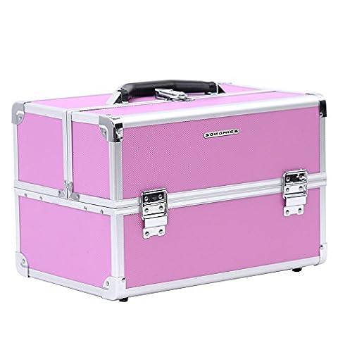 Songmics Alu pro Make up Storage Cosmetic
