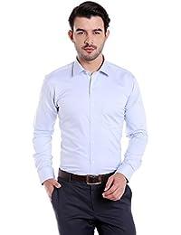 Donear NXG Mens Formal Shirt_SHIRT-1313-SKYBLUE