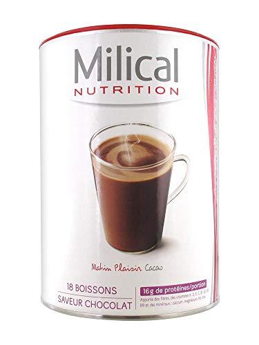 Milical 18 Boissons Hyperprotéinées - Cacao