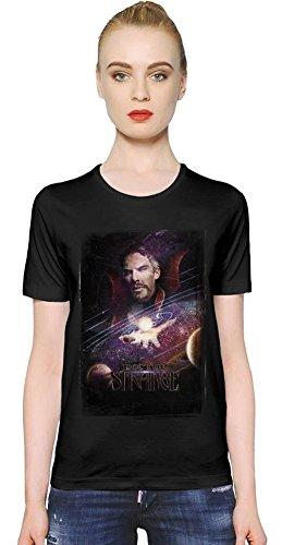 Doctor Strange La camiseta de las mujeres Women T-Shirt Girl Ladies Stylish Fashion Fit Custom Apparel By Slick Stuff