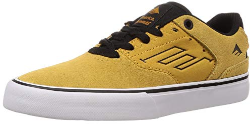 Emerica Herren The Reynolds Low Vulc gelb 43 EU M - Reynolds Cruisers