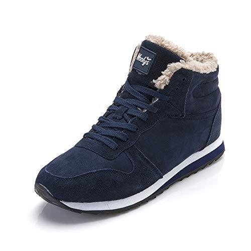 fed22020bba LIEBE721 Woemn s Snow Boots Winter Warm Shoes Antideslizante Felpa de Moda  Casual Zapatos al Aire Libre