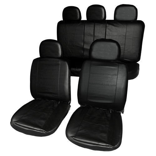 infiniti-fx-09-on-full-set-luxury-leather-look-seat-covers-front-rear-black