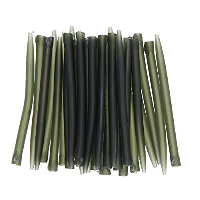 50pcs Anti Tangle Sleeves Connect with Hook Carp Fishing Tackle by LINSUNG