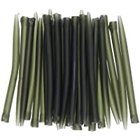 50pcs Anti Tangle Sleeves Connect with Hook Carp Fishing Tackle