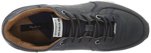 Pepe Jeans London Tinker Top, Baskets Basses Homme Bleu - Blau (Marine 585)