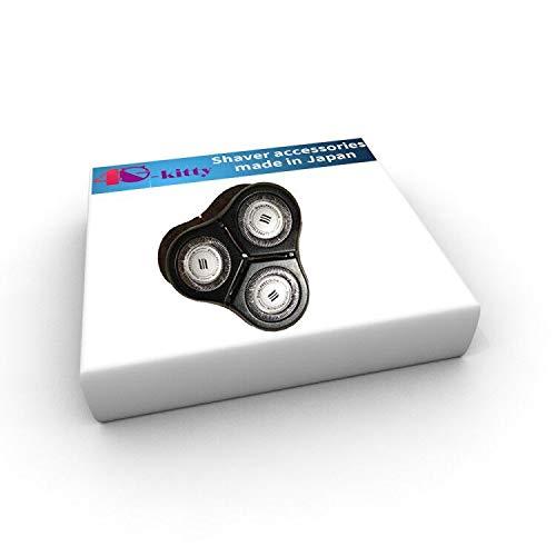 rq11 ersatz kopf 6000 serie/sensotouch 2d 1150x, 1160x, 1170x & 1180x elektrische rasierer + doppelseitige shaver. + herofiber ultra - sanfte reinigung stoff für philips norelco -