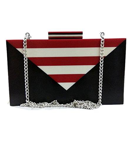 wooden bag Indian Handmade women's party clutch cross body vintage wooden purse (Kupplung Sling Purse)