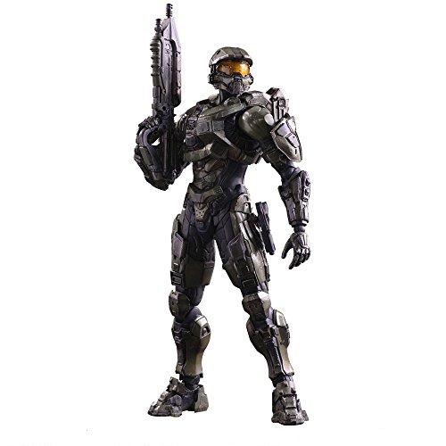 Preisvergleich Produktbild Play Arts Kai - HALO 5 GUARDIANS Master Chief Scale Complete Figure John Assault Rifle Handgun 117 Character Model 343 Industries Microsoft Studios Xbox One Square EnixSquareEnix