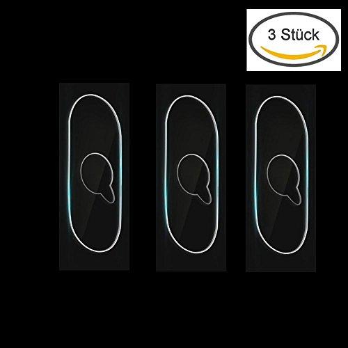 KRS - 3xLP11 [3 Stück] - iPhone X Kamera Panzerglas, Rheshine 0.1mm iPhone X Kamera Transparentes Schutzglas,Ultra-klar Hohe Transparenz 9H Härte, Anti-Kratzen,Anti-Öl, Anti-Bläschen Panzerglas Displayschutzfolie (3x Linsenschutz IPX) (Iphone-kamera-objektiv-protector)