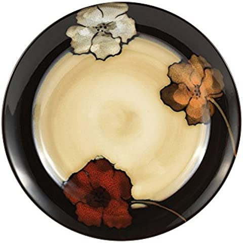Pfaltzgraff Everyday Painted Poppies Dinner Plate, 11-Inch by