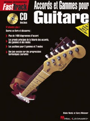 FastTrack Accords et gammes pour guitare + CD par Blake Neely
