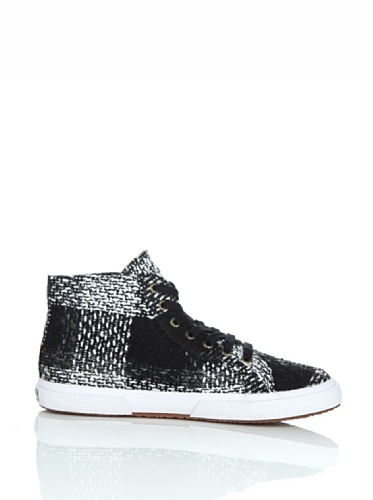 Scarpe Le Superga - 2095-fantasyw 13 WHITE-BLACK