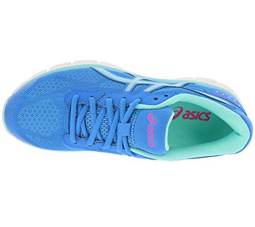 Asics Gel Impression 9 Women's Scarpe Da Corsa - SS17 bleu vif/bleu turquoise/rose flash