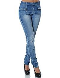 suchergebnis auf f r jeans mit gummizug damen bekleidung. Black Bedroom Furniture Sets. Home Design Ideas
