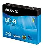 #5: Sony 3BNR25R3H 6x 25GB Recordable Blu-Ray Disc - 3 Pack