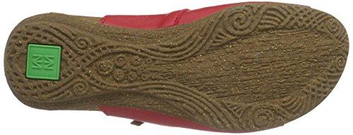 El Naturalista Wakataua Nd79, Sandales Plateforme femme Rouge - Rouge