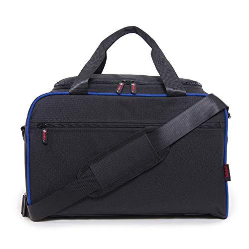 Vashka on board-conforme secondo bagaglio a mano per ryanair 40x20x25cm | blu