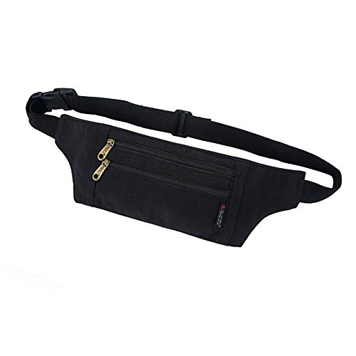 BUSL Wandern Fanny Packs Outdoors Travel Buddy Brieftasche Waist Packs Camping Bergsteigen Angeln Jogging Fitness Walking Taille Tasche Black
