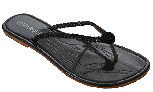A&H FootwearW930-2 - Sandali  da ragazza' donna Black/Flower