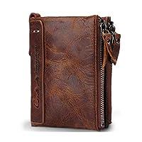 تصميم محفظة ذكية كلاسيكية، جلد أصلي, , بني - 2724337338961