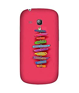 Where To Go Back Cover Case for Samsung Galaxy S3 Mini