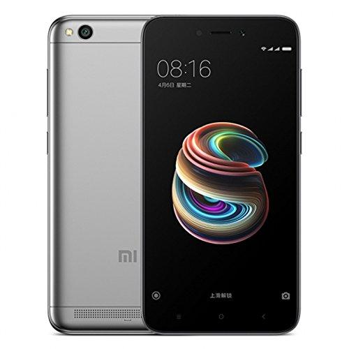 """Xiaomi Redmi 5A Smartphone da 5"""",HD, con 16GB di memoria e 2GB di RAM, colore: grigio"""