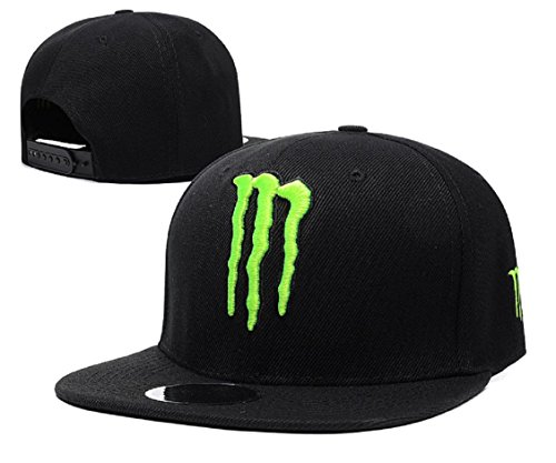 Preisvergleich Produktbild For Men And Womens Monster Energy Hip-Hop black cool summer Snapback