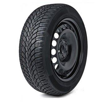 Duster 2010-2019 Roue de secours 16 pouces en acier et pneu 215/65R16