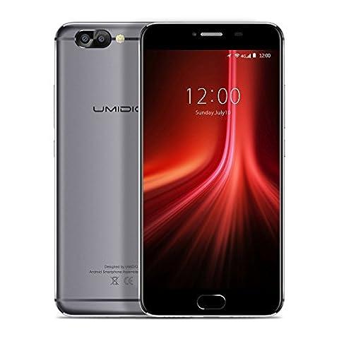 UMIDIGI Z1 Smartphone Ohne Vertrag( 5.5 Zoll Display, 6GB RAM