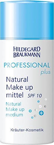 Hildegard Braukmann Professional Plus Natural Make-up Mittel, Lichtschutzfaktor 8, 1er Pack (1 x 30 ml) (30 Spf Foundation Anti-aging)