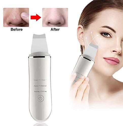 Haut Scrubber Ultraschall Mitesserentferner Ultraschallpeelinggerät Ultraschall Peeling Gesicht Porenreiniger Skin Scrubber Elektrischer Porenreiniger Akne Dead Skin Entferner Tiefenreinigung