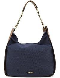 CAFèNOIR , Sac pour femme à porter à l'épaule bleu bleu