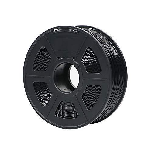 X-xiazhi, materiali di stampa di plastica dei materiali di consumo di plastica del filamento della stampante 3d di pla 1.75mm 1kg 28 colori di generi for voi scelgono (colore : nero)