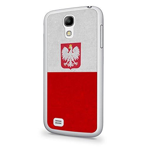 Polen Polska Poland Flagge Samsung Galaxy S4 Hülle Cover Case Schale