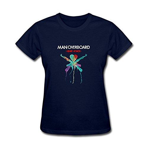 UKCBD -  T-shirt - Donna blu X-Large