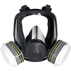 Masque complet confort réutilisable 3MTM 6800, Certifié EN sécurité