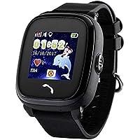 """JBC GPS-Telefon Uhr Wasserdicht OHNE Abhörfunktion Die Piraten"""", für Kinder, SOS Notruf+Telefonfunktion, Live GPS+LBS Positionierung, funktioniert weltweit, Anleitung + App + Support auf deutsch"""