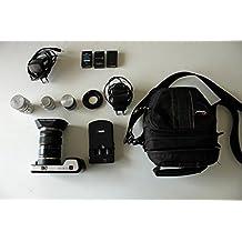 Kit Blackmagic Camera Cinema Pocket con 1 Panasonic Lente 14-42 mm, 2 batería BPH-0318N + 1 cargador CPH-0185